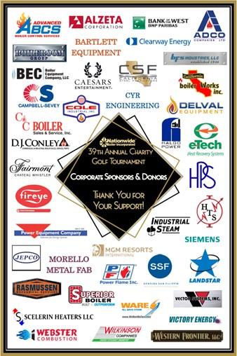 39th Annual Golf Sponsors