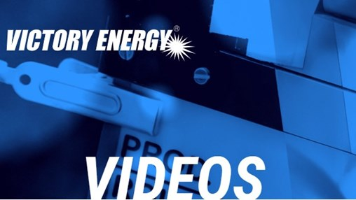 Victory Energy Website Launches Videos Page