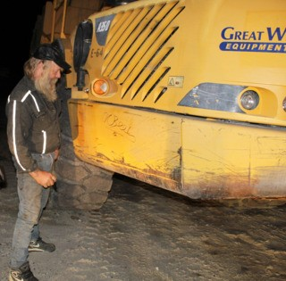 Volvo Career Tech School Receives Gold Rush Haul Truck2