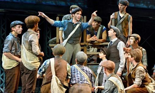 Energetic Broadway Hit 'Newsies' In Atlanta For Short Run