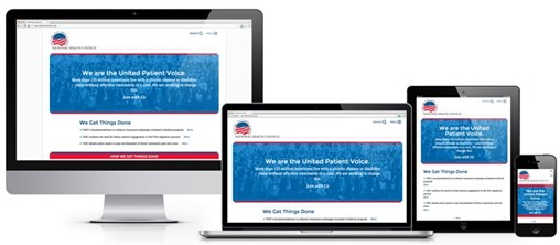 New Target Launches Redesigned National Health Council Website