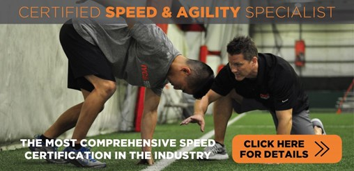 speed & agility certification