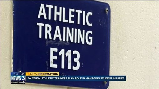 UW Study Suggests Athletic Trainers Play Important Role in Managing Student Injuries