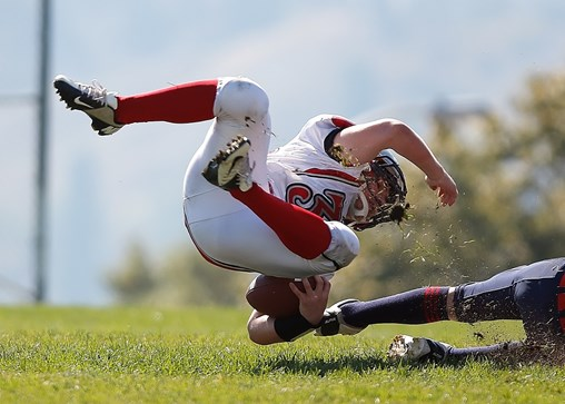 Football Athletes Take a Hit to Their Health