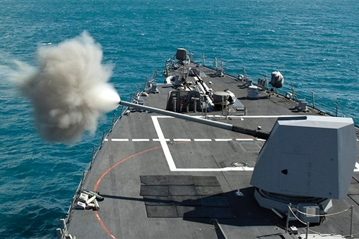 U.S. Navy Awards BAE Systems $70 Million Contract for Upgraded Mk 45 Gun Systems