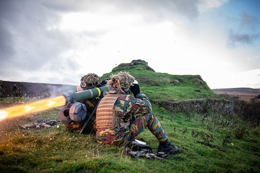 German Army Performs European SPIKE Firing Campaign