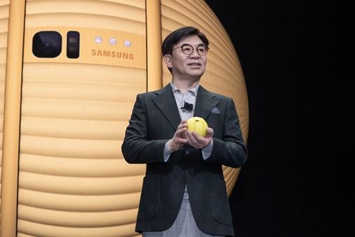 HS Kim CES 2020 Keynote Ballie