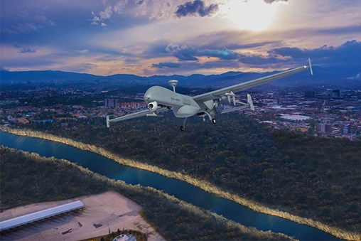 IAI Unveils New Tactical UAV: The T-Heron