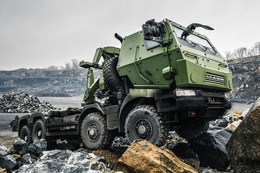 Mack Defense Highlights Medium Support Vehicle System Roll-Out at CANSEC 2019