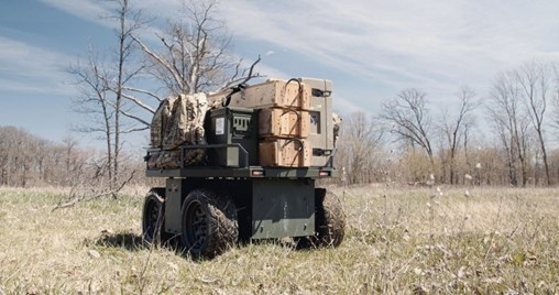 Pratt & Miller Engineering is expanding the mission set for its Light Flexible Robotic Platform, which was originally developed to support marksmanship training. (Pratt & Miller Engineering)
