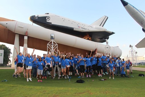 Northrop Grumman Foundation Supports Japanese Students Teachers at Space Camp in US