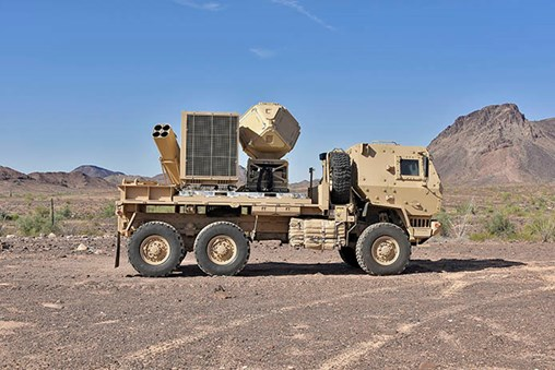 The versatile KuRFS radar uses active electronically scanned array technology to track airborne objects including unmanned aerial systems.