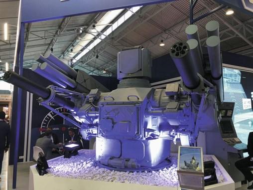 The Palma naval anti-aircraft gun-missile system. (Dmitry Fediushko)