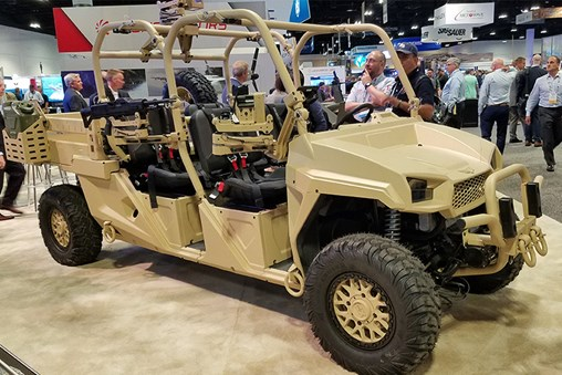 Textron Shows Reconfigurable Light Tactical Vehicle at SOFIC