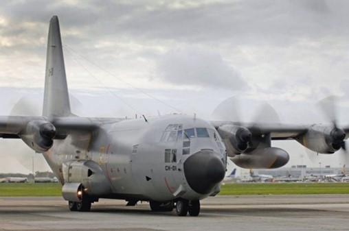 Belgium is selling its fleet of nine C-130 transport aircraft. (Belgian MoD)