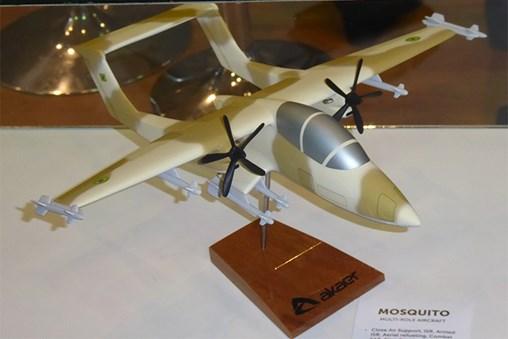 Gripen E and Mosquito Designed in Brazil