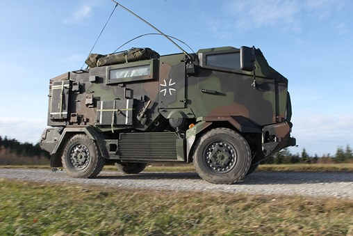KMW Will Supply Mungo N/C Recce to the German Army