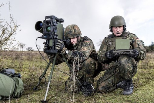 The German Army completed a firing campaign with the Spike missile, designated the Mehrrollenfähige Leichte Lenkflugkörpersystem (Multirole-capable Light Anti-tank Missile System: MELLS) by the Bundeswehr. (EuroSpike)