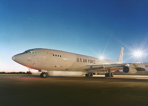 Northrop Grumman could provide upgrades such as communication and mission systems for the E-8C JSTARS aircraft through a 27 September US Air Force contract. (Northrop Grumman)