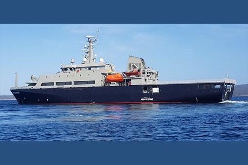 C-Flex PATROL System Update for RAN Multi-Role Aviation Training Vessel