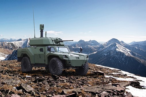 Otokar Showcases Its New Generation Armoured Vehicle Family AKREP II at IDEF