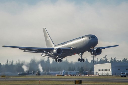 Boeing is looking to add to its US and Japanese customers for the KC-46A by pursuing current and future F-35 operators. (Boeing)