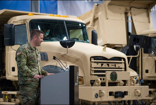 Mack-Shows-Off-500-New-Dump-Trucks-For-Army