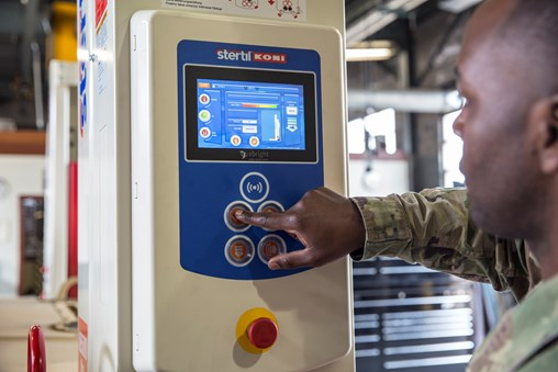 Stertil-Koni Deploys Touchscreen Control System on Heavy Duty Vehicle Lifts