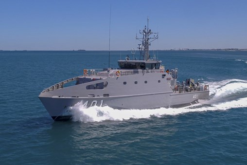 AUSTAL Delivers First Guardian Class Patrol Boat