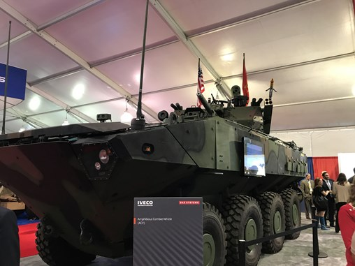 BAE Systems Receives $140 Million ACV Order, Discussing Variants With Marine Corps