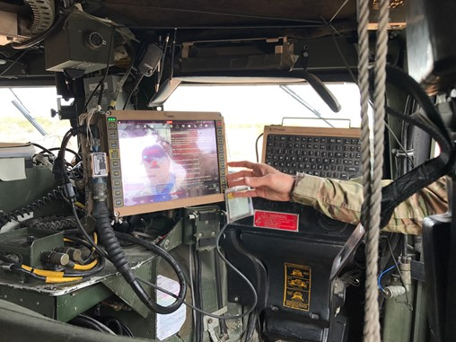 Soldiers Testing Army's Two Options for New Vehicle Command System at NIE