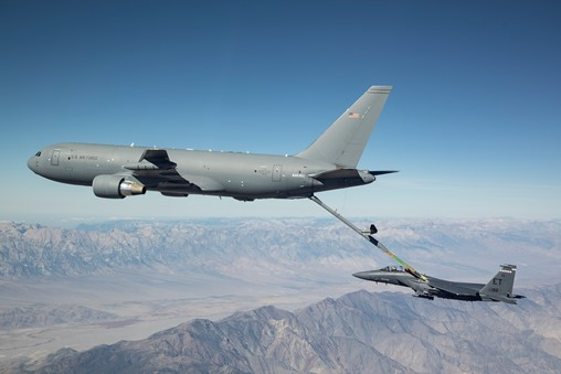 KC-46 Finishes Phase II Receiver Certification Testing
