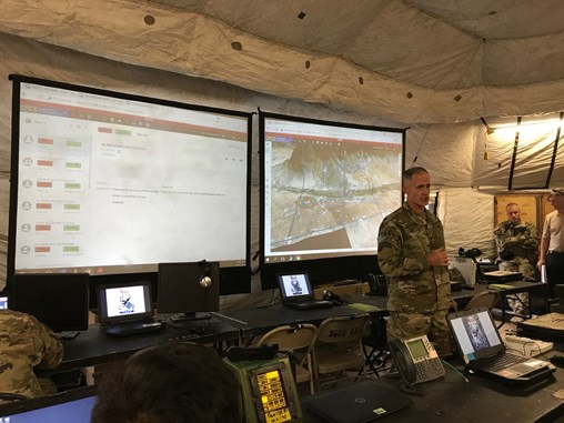 Army Tests Future Command Post Mission System at Last NIE Exercise