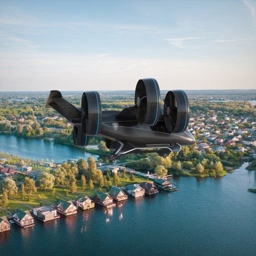 Bell Unveils Ducted-Fan, Hybrid Electric Vertical Flight Vehicle