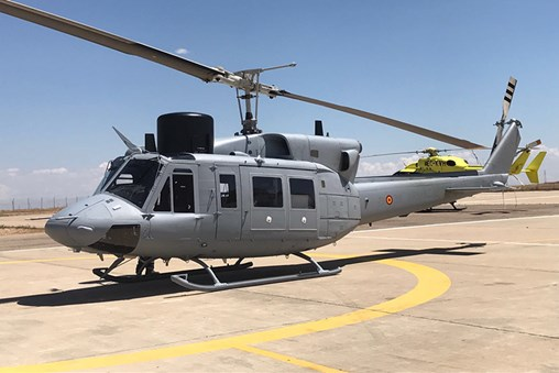 SENER and Babcock Deliver the Sixth Upgraded AB-212 Helicopter Unit to the Spanish Navy