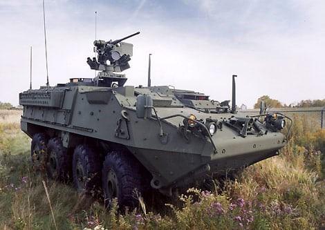 Army Evaluating Rheinmetall, Leonardo APS Offerings for Stryker at February Demo