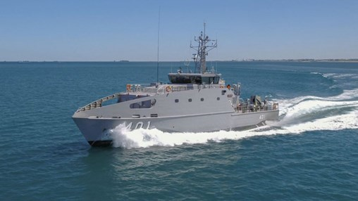 Papua New Guinea Receives First Guardian-Class Patrol Boat
