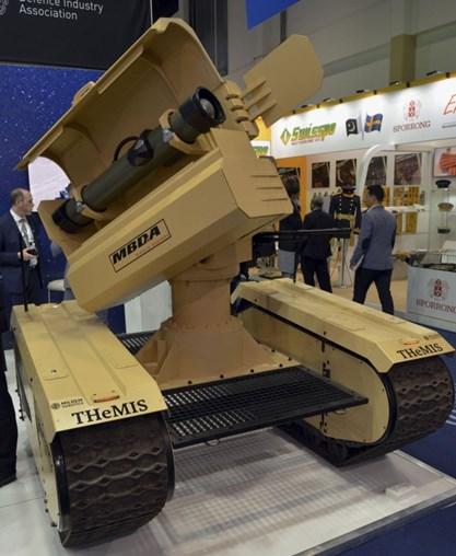 AUSA Industry Guide - IDEX 2019: Milrem Robotics Unveils