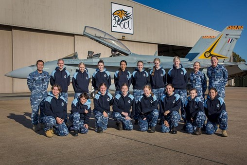 Technical Camp for Young Women, RAAF Base Williamtown