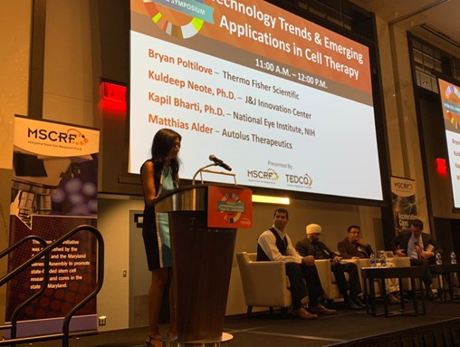 Maryland's World Leading Cell Therapy Industry highlighted at TEDCO's Stem Cell Symposium & Entrepreneur Expo