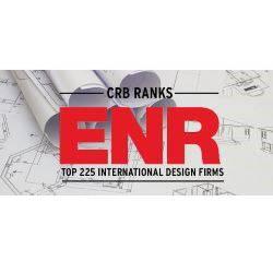 CRB ranks among the top 225 international design firms
