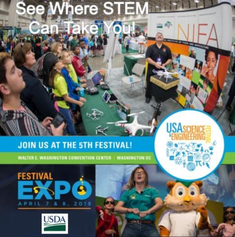 Join USDA at the 5Th USA Science and Engineering Festival