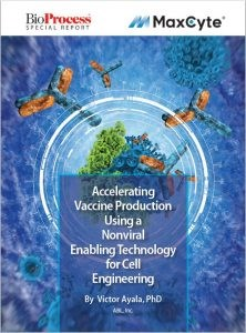 Accelerating Vaccine Production Using a Nonviral Enabling Technology for Cell Engineering