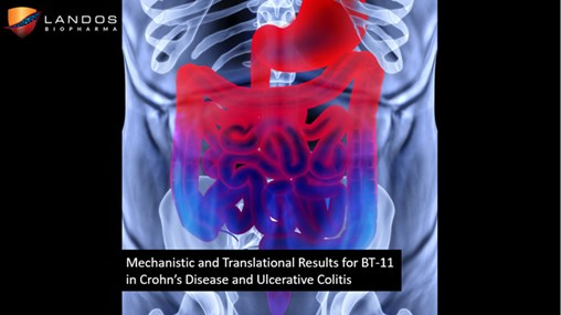 Landos Biopharma (Blacksburg, VA) announced Mechanistic and Human Translational Results for BT-11 in Models of IBD