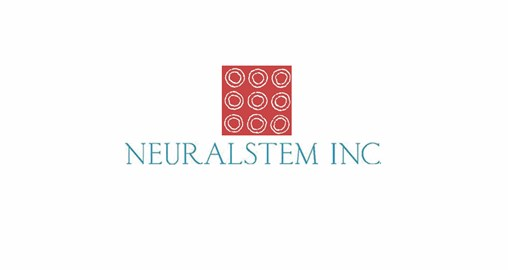 Neuralstem Announces Publication of a Study Showing Benefits of Neural Stem Cell (NSC) Transplantation in a Mouse Model of Alzheimer's Disease