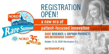 2018 NORD Rare Summit in DC to Feature Distinguished Speakers Discussing 'a New Era of Patient-Focused Innovation'