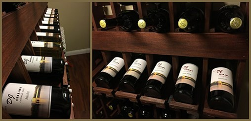 WineMaker Racks Get Seal of Approval From Client and Friends