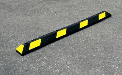Rubber Parking Stops 🚗🚗🚗 Help Ensure Vehicles Stay at the Proper Location When Parking