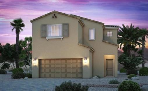 Century Communities' model home at Grandview.