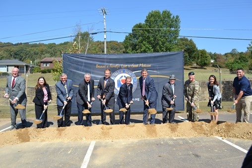 84 Lumber Helps Break Ground on First Fisher House in West Virginia